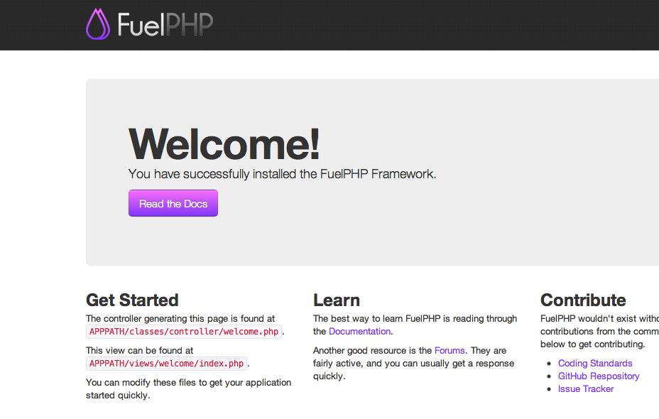 FuelPHP_Framework